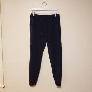 GUC, Uniqlo Navy Fleece Sweat Pants Slim Fit, M